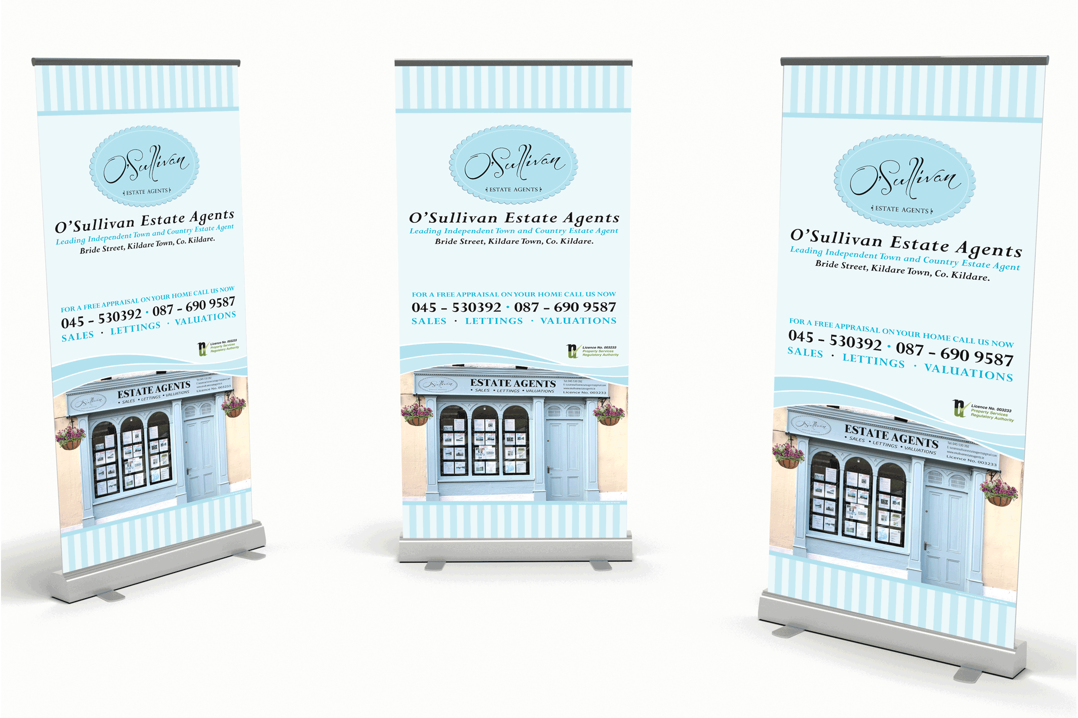 Artisan Design Studio's Pull-up Banners